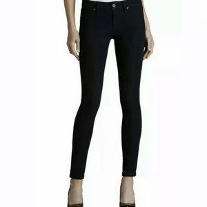 DL1961 Emma Power Leggings Black Riker Skinny Jean